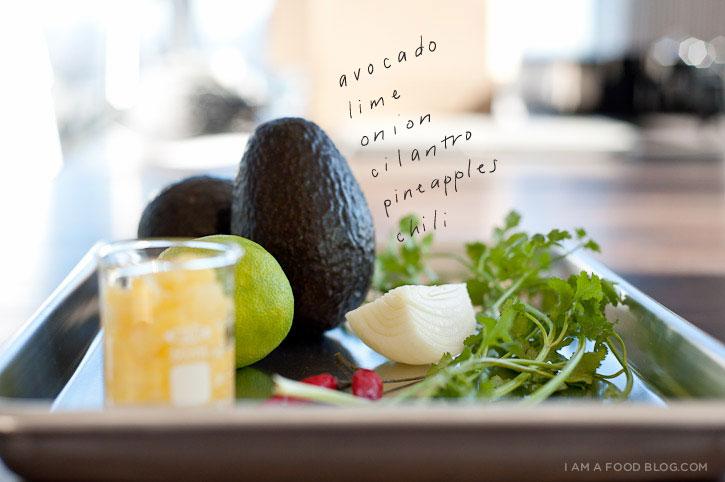 Pineapple Guacamole Recipe | www.iamafoodblog.com