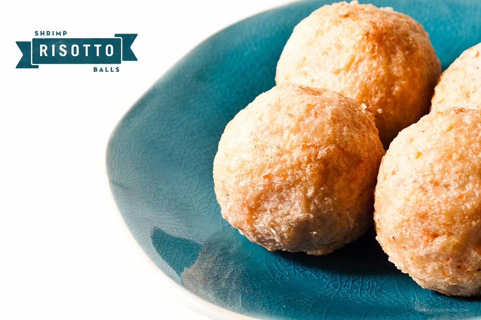 Shrimp Risotto Balls | www.iamafoodblog.com