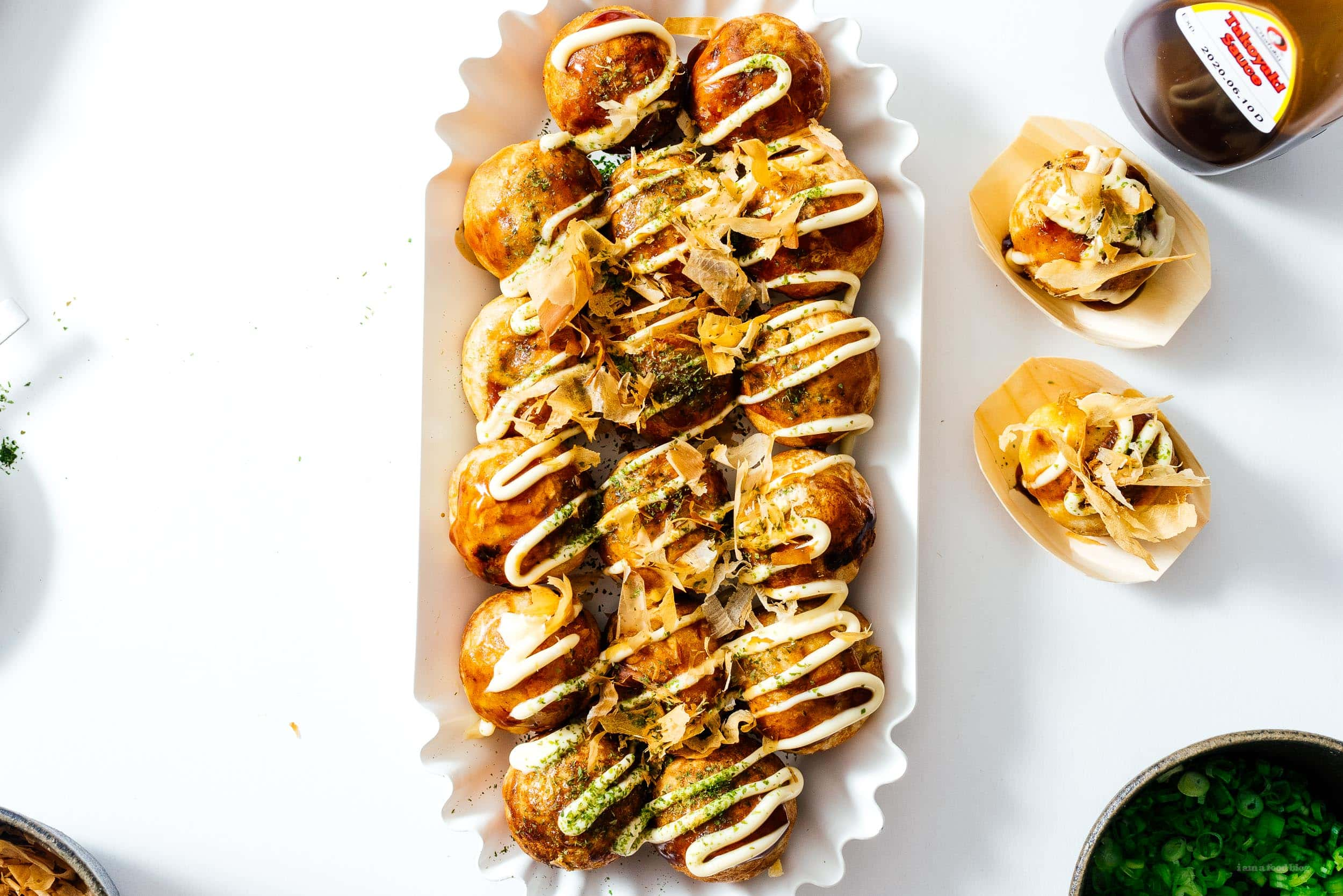 Takoyaki Dinner Party | www.iamafoodblog.com