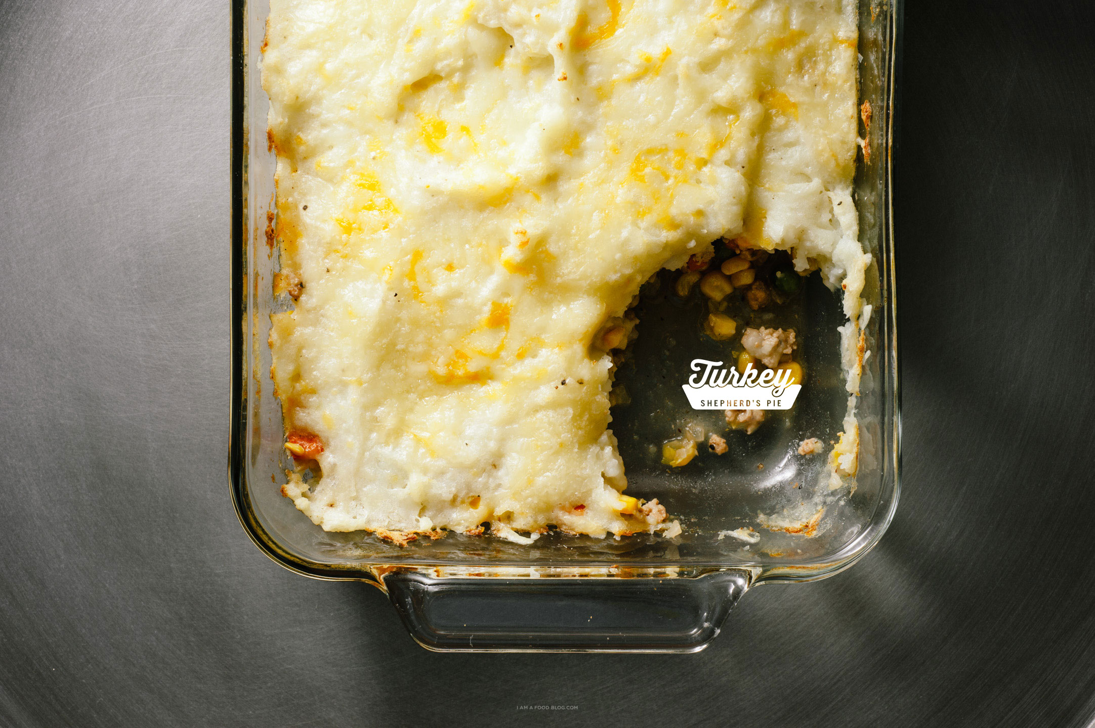 turkey shepherd's pie recipe - www.iamafoodblog.com