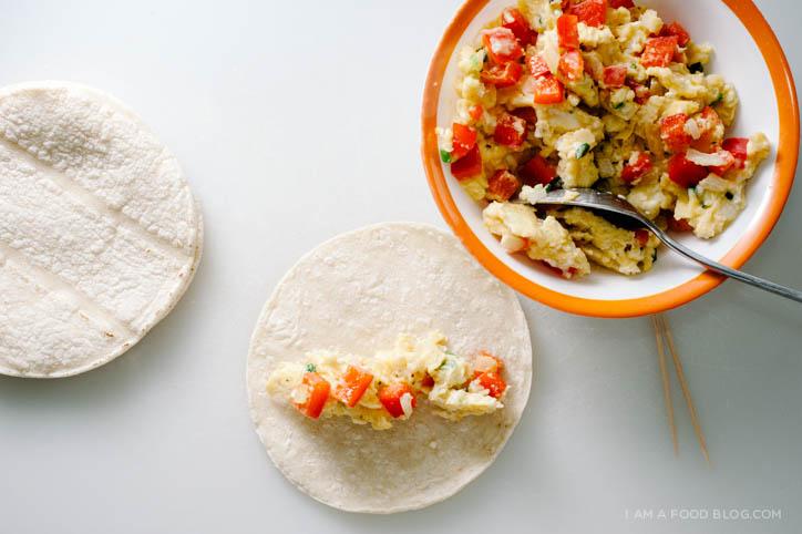 breakfast taquito recipe - www.iamafoodblog.com