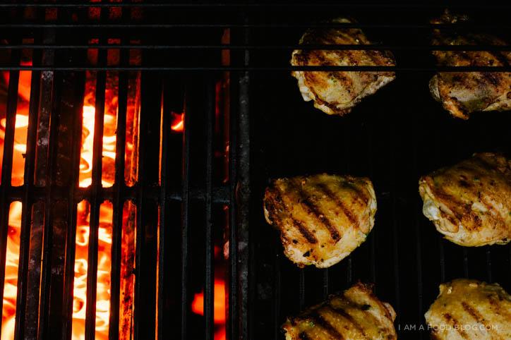 jalapeño honey garlic chicken recipe - www.iamafoodblog.com