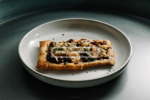 mushroom onion tart recipe