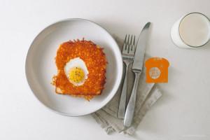 烤鸡蛋和奶酪配方