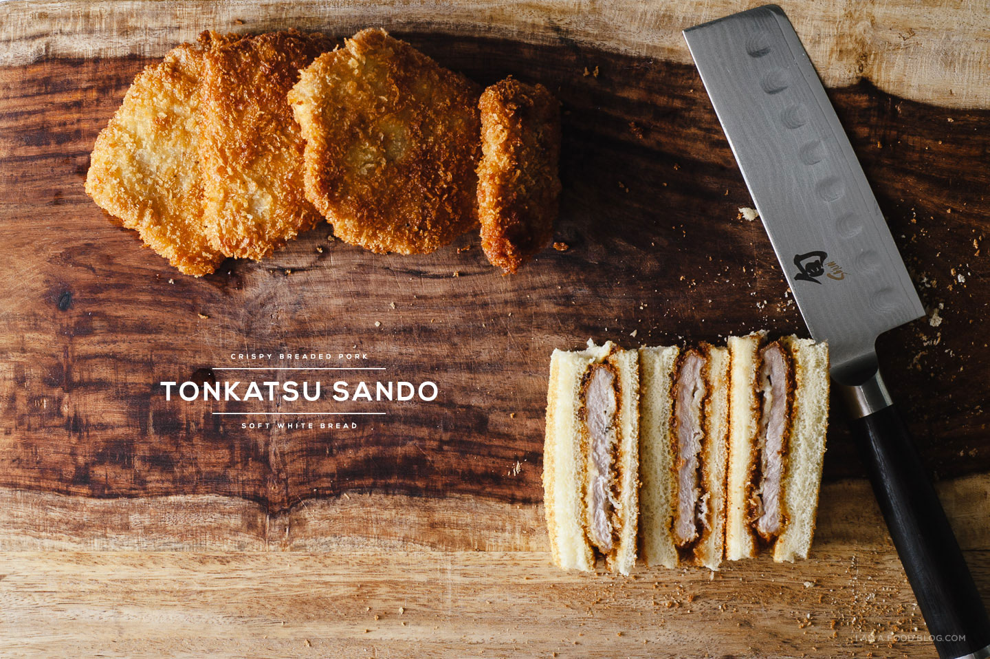 Katsu Sando - Tonkatsu Sandwich Recipe · i am a food blog i am a food blog