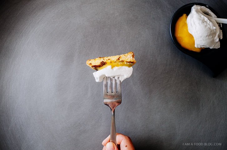 lemon meringue french toast recipe - www.iamafoodblog.com
