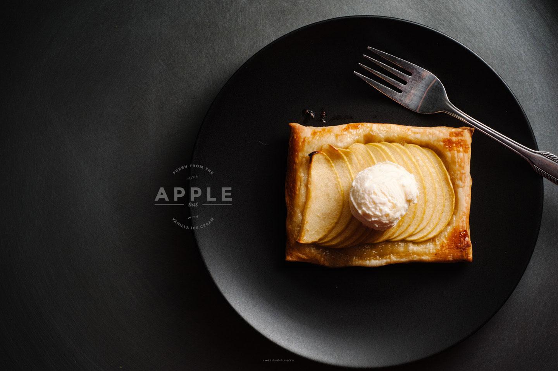 easy apple tart
