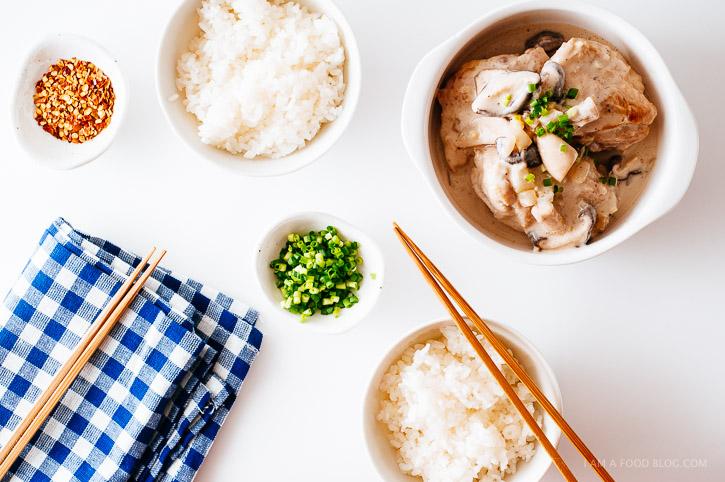 miso coconut chicken recipe - www.iamafoodblog.com