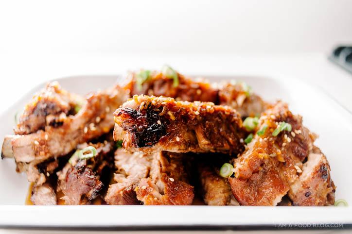 kalbi baby back ribs recipe - www.iamafoodblog.com