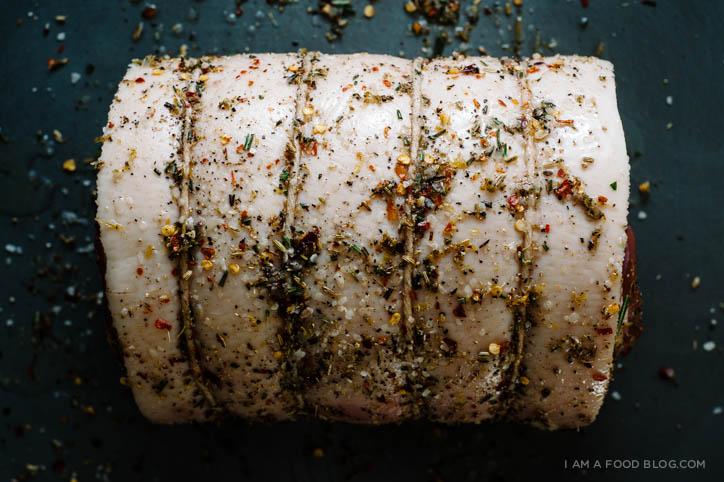 porchetta recipe - www.iamafoodblog.com