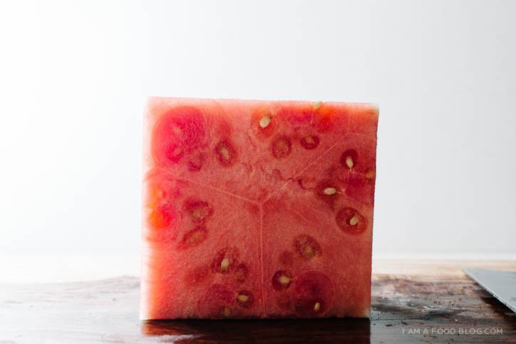 watermelon burrata salad recipe - www.iamafoodblog.com