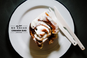 the best no-knead cinnamon bun recipe - www.iamafoodblog.com
