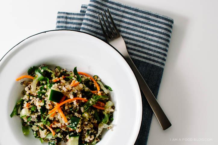 vietnamese quinoa salad recipe - www.iamafoodblog.com