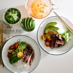 vietnamese steak and vermicelli bowl recipe - www.iamafoodblog.com