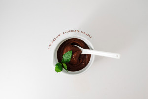 spicy dark chocolate mousse recipe - www.iamafoodblog.com