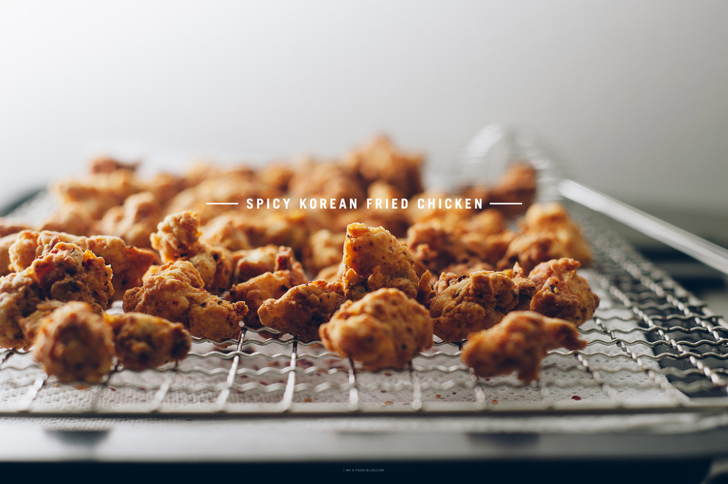 spicy popcorn chicken recipe - www.iamafoodblog.com