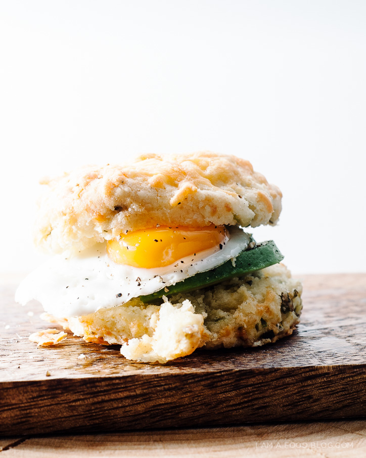 mini breakfast biscuits - www.iamafoodblog.com