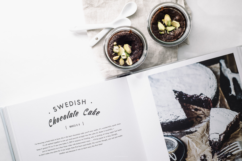mini swedish chocolate cake recipe - www.iamafoodblog.com
