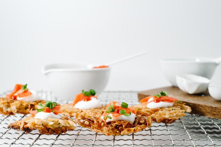 crispy taro cakes recipe - www.iamafoodblog.com