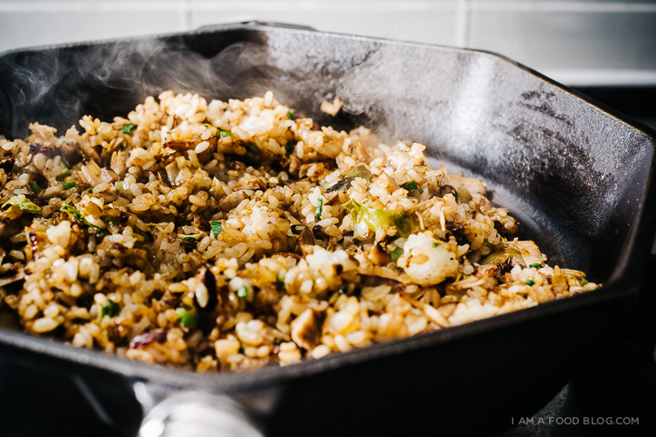 turkey fried rice recipe - www.iamafoodblog.com