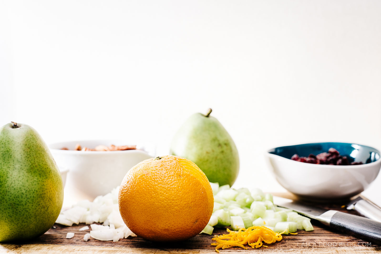 sweet side dish: christmas quinoa salad recipe - www.iamafoodblog.com