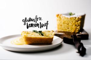 gluten free lemon loaf - www.iamafoodblog.com