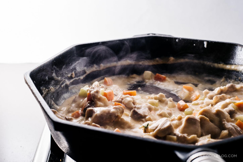 sriracha chicken pot pie recipe - www.iamafoodblog.com