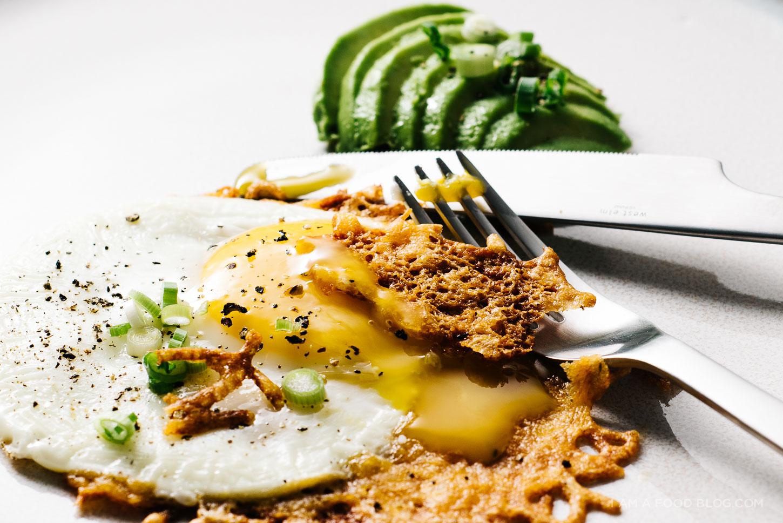 crispy cheesy egg recipe - www.iamafoodblog.com