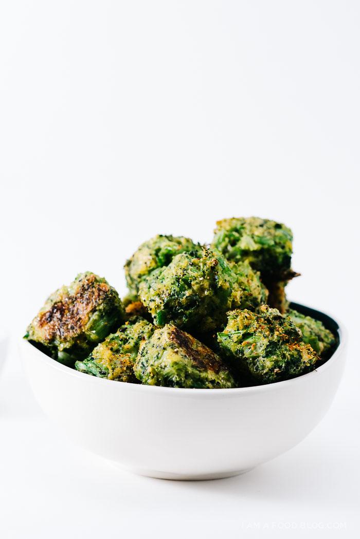 broccoli cheddar tots recipe - www.iamafoodblog.com