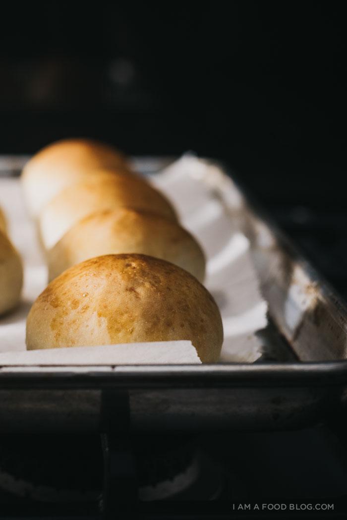 potato buns - www.iamafoodblog.com