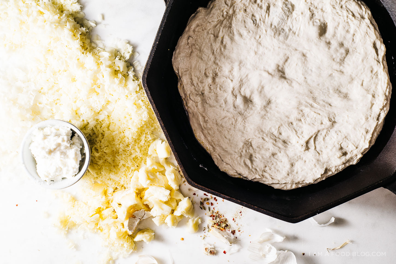 four cheese pizza recipe - www.iamafoodblog.com