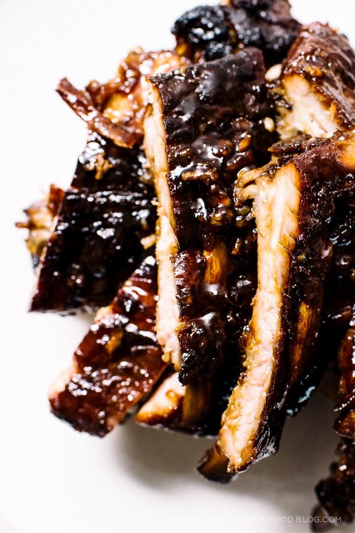 slow cooked ribs recipe - www.iamafoodblog.com