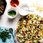 perfect microwave nachos recipe - www.iamafoodblog.com