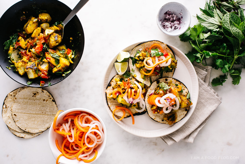 vietnamese fish tacos recipe - www.iamafoodblog.com