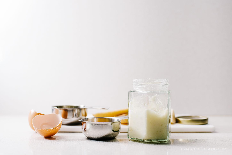mashed potatoes, soft coddled egg and toast recipe - www.iamafoodblog.com