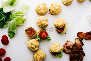 blt buttermilk biscuit slider recipe - www.iamafoodblog.com