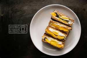 pumpkin sage grilled cheese recipe - www.iamafoodblog.com