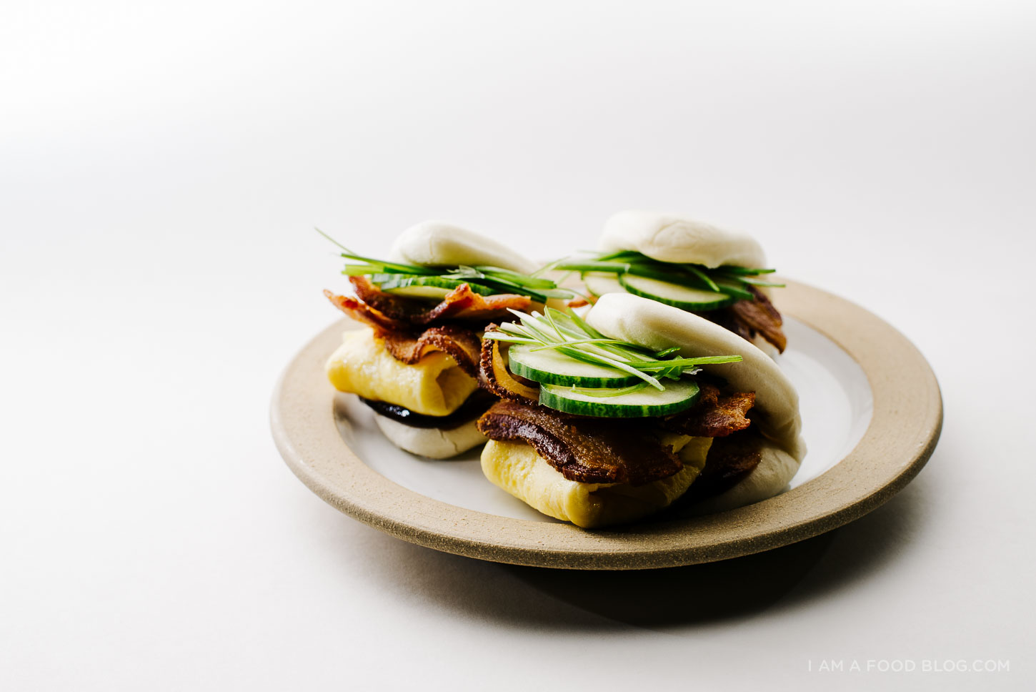 bacon and egg bao - www.iamafoodblog.com