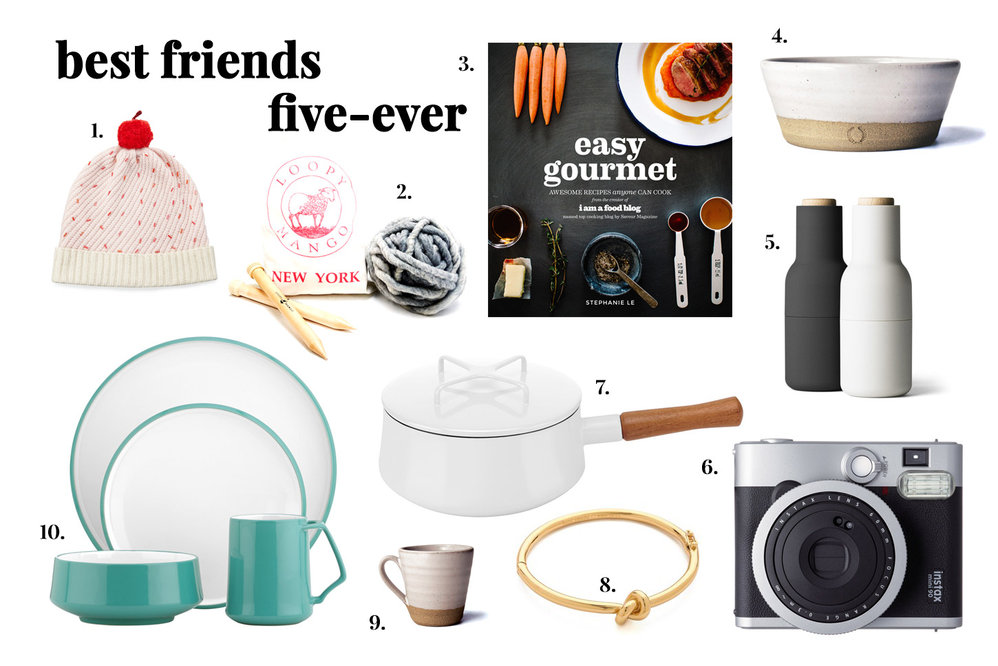 i am a food blog gift guide for your bff