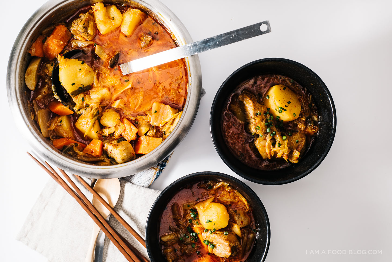 kimchi stew recipe - www.iamafoodblog.com