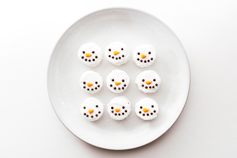 snowman marshmallows | www.iamafoodblog.com