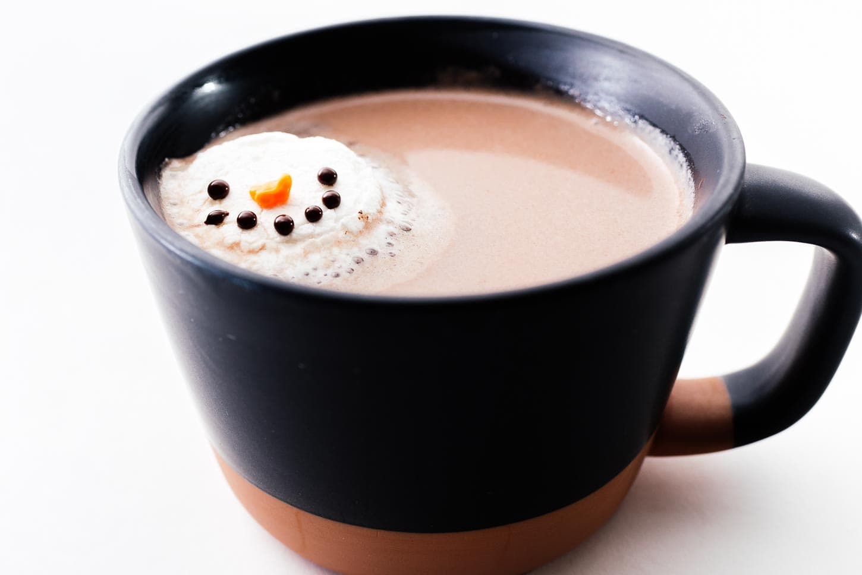 snowman marshmallows melting | www.iamafoodblog.com