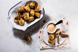 cauliflower tots - www.iamafoodblog.com