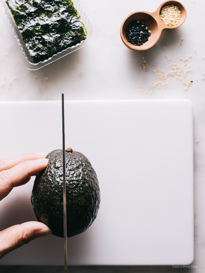 japanese avocado toast - www.iamafoodblog.com