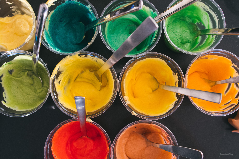 rainbow cake - www.iamafoodblog.com