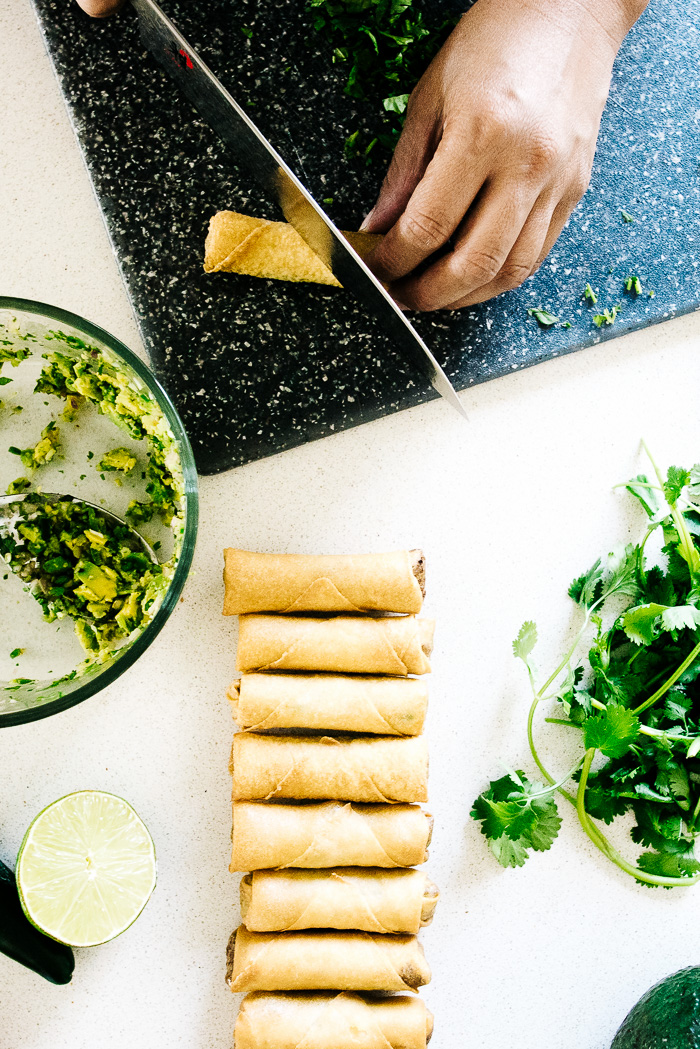 crispy avocado rolls - www.iamafoodblog.com
