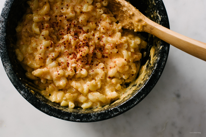 Mac and Kimcheese Dolsot Bibim-mac | www.iamafoodblog.com