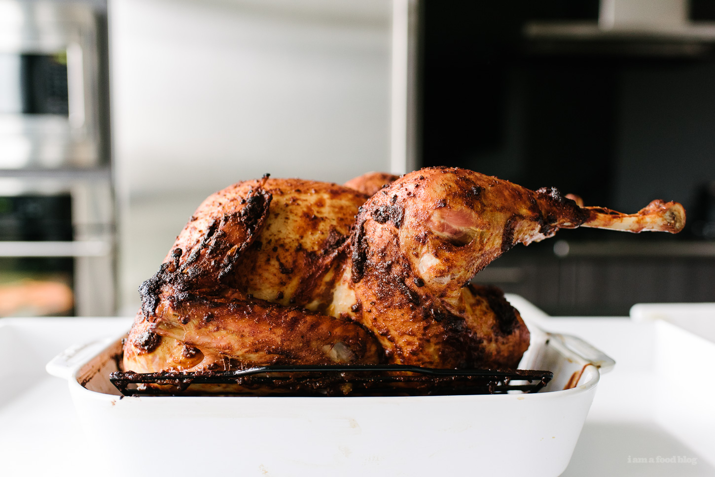 juicy roast turkey - www.iamafoodblog.com