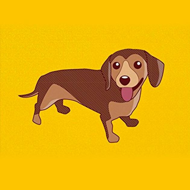dachshund-art-print