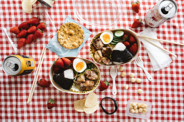 12 recipes for a Japanese inspired picnic